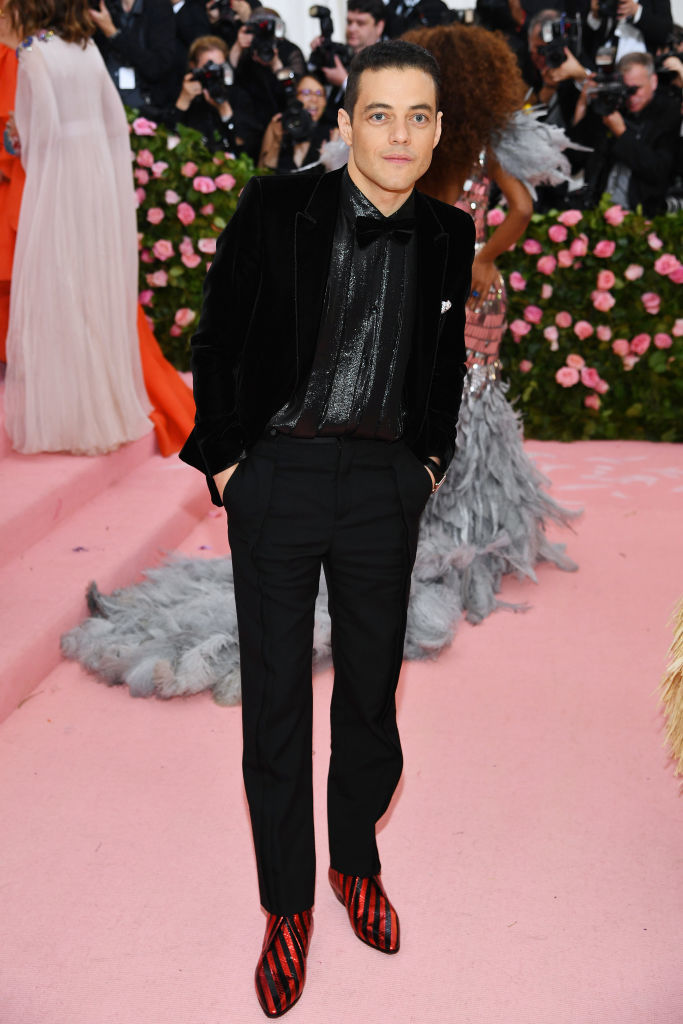 NEW YORK, NEW YORK - MAY 06: Rami Malek attends The 2019 Met Gala Celebrating Camp: Notes on Fashion at Metropolitan Museum of Art on May 06, 2019 in New York City. (Photo by Dimitrios Kambouris/Getty Images for The Met Museum/Vogue)