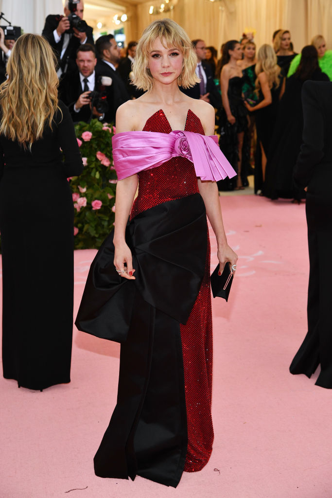 NEW YORK, NEW YORK - MAY 06: Carey Mulligan attends The 2019 Met Gala Celebrating Camp: Notes on Fashion at Metropolitan Museum of Art on May 06, 2019 in New York City. (Photo by Dimitrios Kambouris/Getty Images for The Met Museum/Vogue)