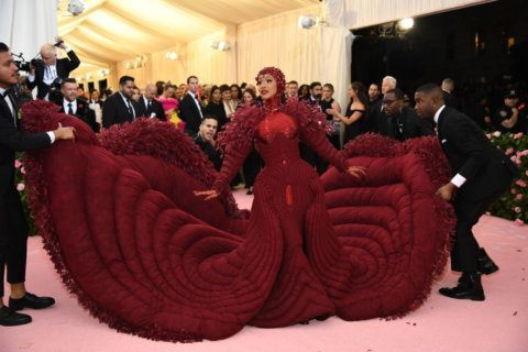 Celebs try to out-camp each other at wild Met Gala