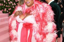 NEW YORK, NEW YORK - MAY 06: Lizzo attends The 2019 Met Gala Celebrating Camp: Notes on Fashion at Metropolitan Museum of Art on May 06, 2019 in New York City. (Photo by Dimitrios Kambouris/Getty Images for The Met Museum/Vogue)