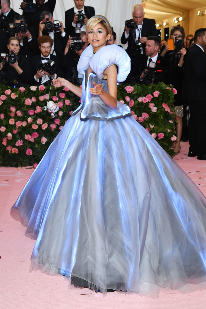 NEW YORK, NEW YORK - MAY 06: Zendaya attends The 2019 Met Gala Celebrating Camp: Notes on Fashion at Metropolitan Museum of Art on May 06, 2019 in New York City. (Photo by Dimitrios Kambouris/Getty Images for The Met Museum/Vogue)