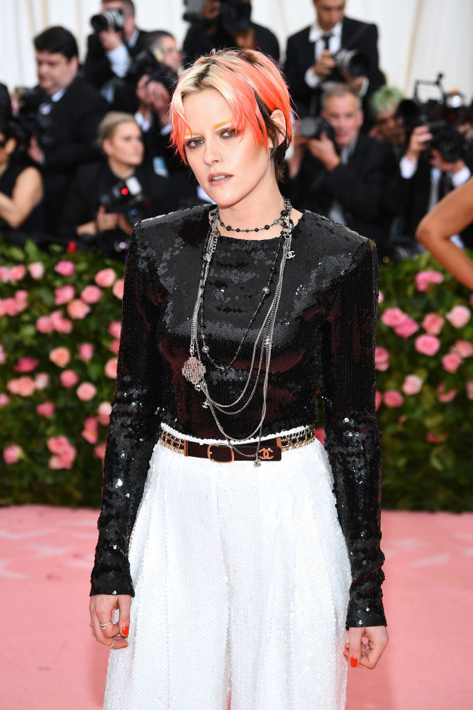 NEW YORK, NEW YORK - MAY 06: Kristen Stewart attends The 2019 Met Gala Celebrating Camp: Notes on Fashion at Metropolitan Museum of Art on May 06, 2019 in New York City. (Photo by Dimitrios Kambouris/Getty Images for The Met Museum/Vogue)
