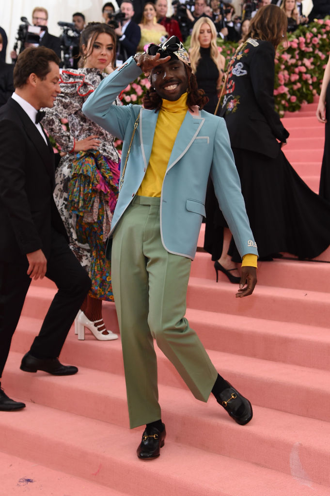 NEW YORK, NEW YORK - MAY 06: Dev Hynes attends The 2019 Met Gala Celebrating Camp: Notes on Fashion at Metropolitan Museum of Art on May 06, 2019 in New York City. (Photo by Jamie McCarthy/Getty Images)