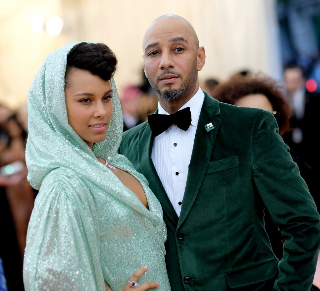 Alicia Keys and Swizz Beatz attends The 2019 Met Gala Celebrating Camp: Notes on Fashion at Metropolitan Museum of Art on May 06, 2019 in New York City. (Photo by Dimitrios Kambouris/Getty Images for The Met Museum/Vogue)
