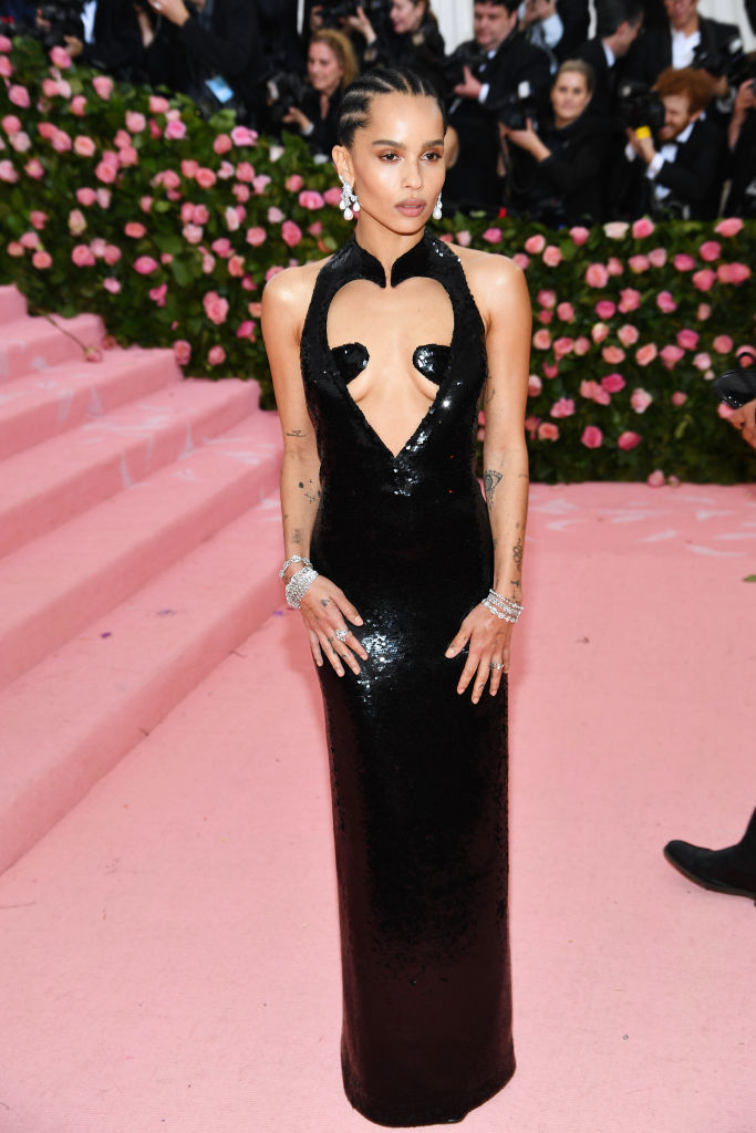 NEW YORK, NEW YORK - MAY 06: Zoe Kravitz attends The 2019 Met Gala Celebrating Camp: Notes on Fashion at Metropolitan Museum of Art on May 06, 2019 in New York City. (Photo by Dimitrios Kambouris/Getty Images for The Met Museum/Vogue)