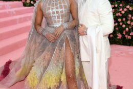 NEW YORK, NEW YORK - MAY 06: (EXCLUSIVE COVERAGE, SPECIAL RATES APPLY) Priyanka Chopra and Nick Jonas attends The 2019 Met Gala Celebrating Camp: Notes on Fashion at Metropolitan Museum of Art on May 06, 2019 in New York City. (Photo by Dimitrios Kambouris/Getty Images for The Met Museum/Vogue)