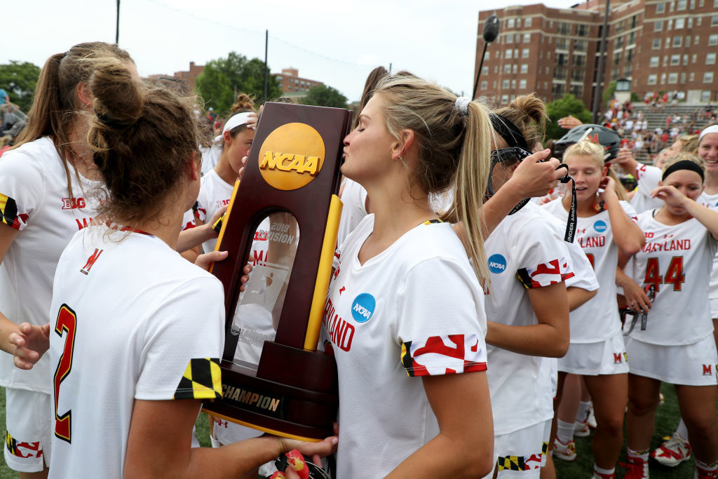 <p><strong>8. Maryland women's lacrosse caps dominant decade</strong></p> <p>Ten years, 10 Final Fours. In fact, Cathy Reese's teams have made lacrosse's final weekend in each of her 13 years in College Park, winning their fifth national title of the decade and fourth in the last seven years this spring. The women's lacrosse team won half of the 10 national titles across all sports, men's or women's at the school this decade. They avenged their lone loss, a 16-11 defeat to Northwestern in the Big Ten Tournament, with a 25-13 thrashing in the national semifinal, their highest scoring game all year.</p>