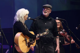 John Starling, who died Thursday, performed with  Emmylou Harris at DAR Constitution Hall in 2015.  (Photo by Neilson Barnard/Getty Images for Blackbird Productions)