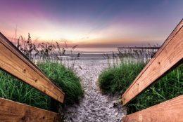 Jacksonville Florida beach entrance