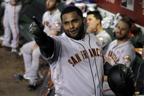 Sandoval, Belt homer in Giants' win over D'backs