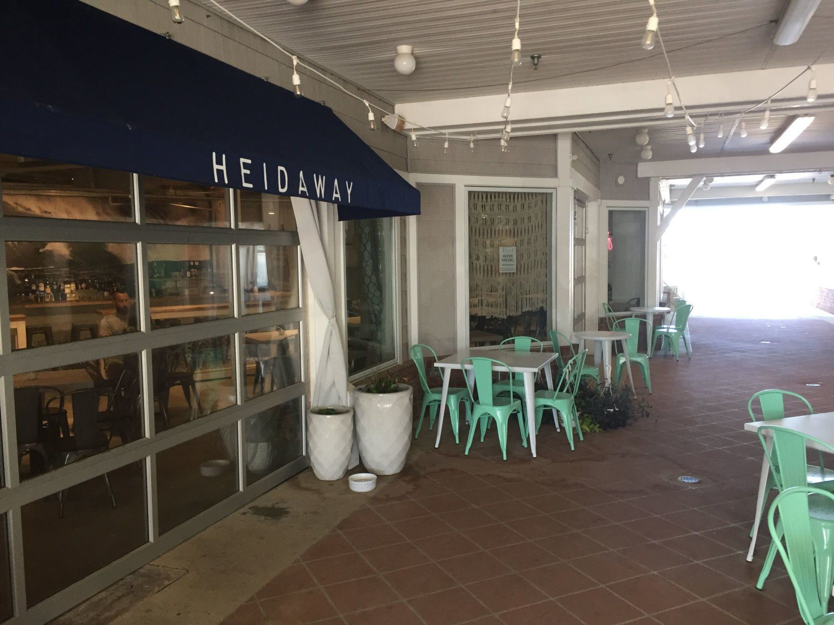 Heideaway, a new restaurant and bar located on the Bethany Boardwalk. (WTOP/John Domen)