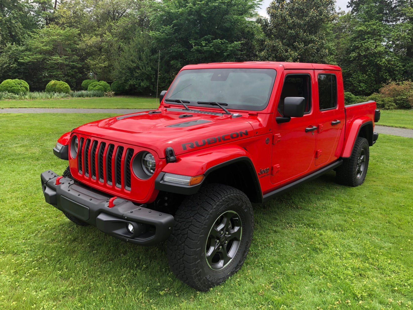 The 2020 Jeep Gladiator is now on sale. (WTOP/John Aaron)