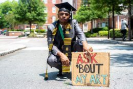 "Quintin Paschall, Morehouse College class of 2019, will be teaching I the fall. He says being relieved of student debt means ""I'll be able to give that much more to my students."" (Courtesy Quintin Paschall)"