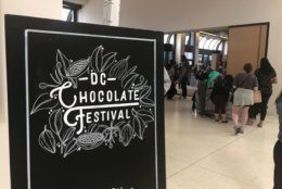 The French Embassy hosted the D.C. Chocolate Festival on May 4, 2019. (WTOP/Melissa Howell)