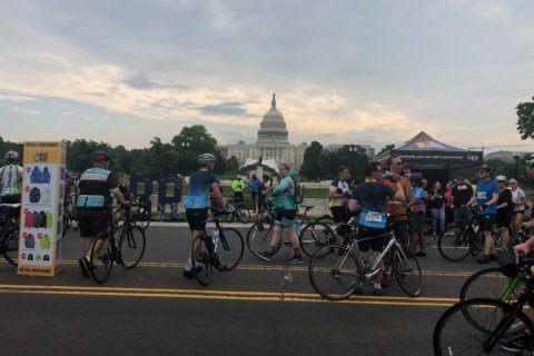 Bikers enjoy 20 mile ride across car-free DC