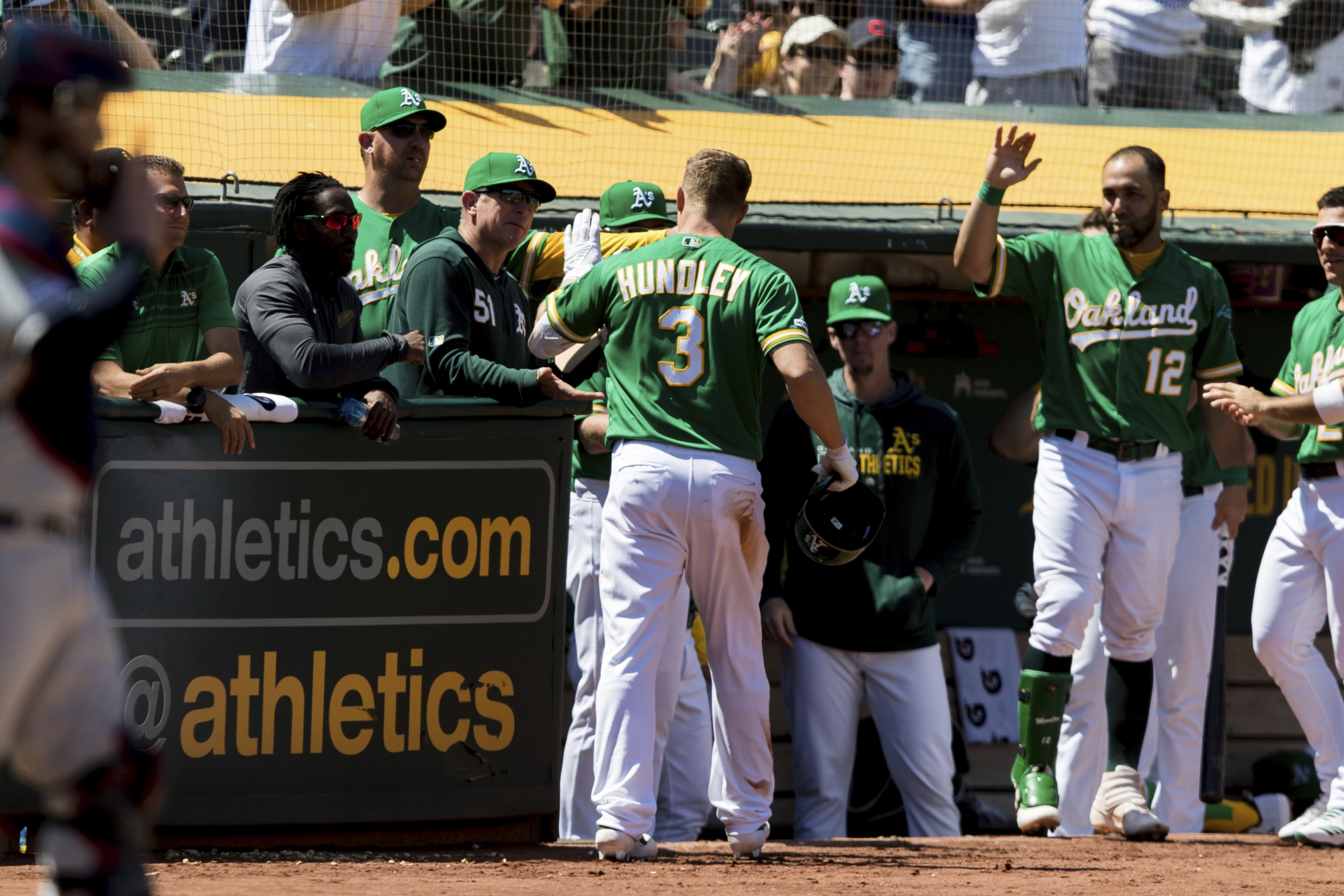 9df6769f91c427 Luplow slips, Olson scores in 9th as A's beat Indians 3-2 | WTOP