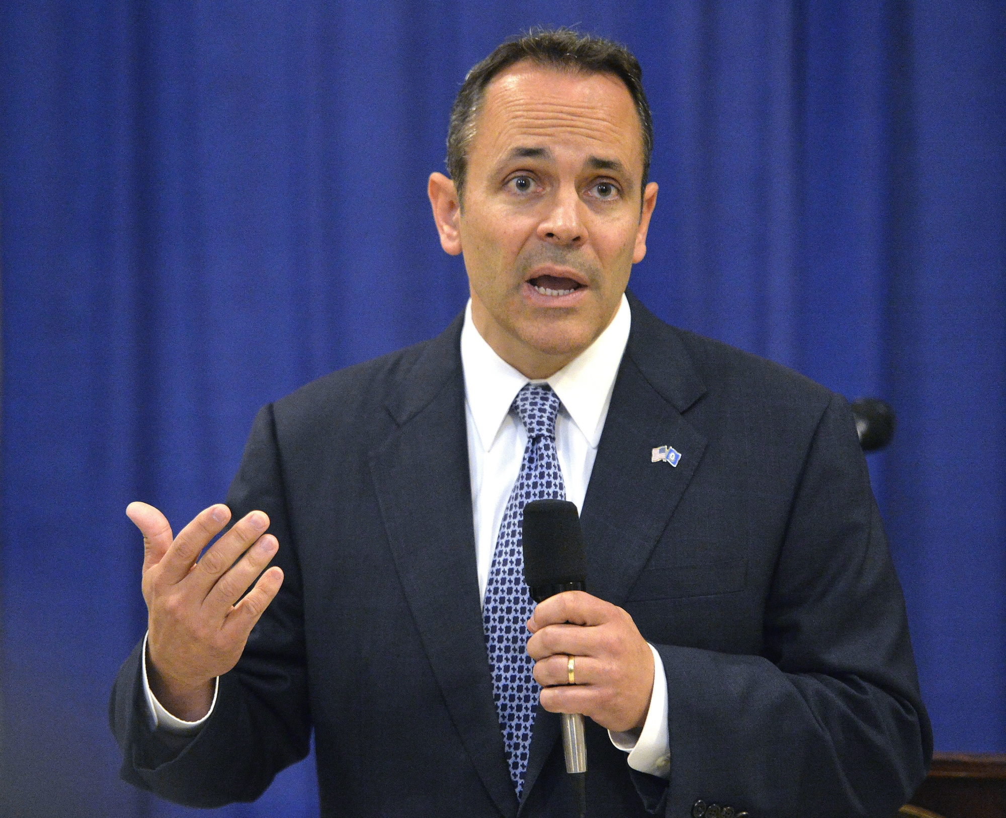 Kentucky governor gets election-eve boost from Trump