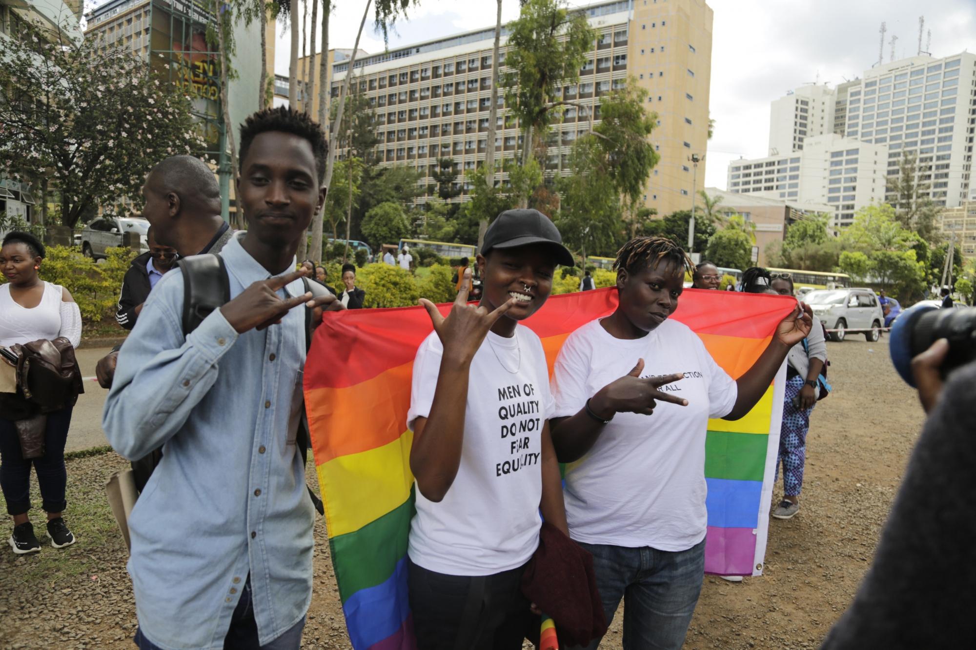 Some countries with kenya; 12; gay kenya