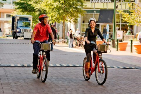 Looking to improve your health? Bike to work for a fun, healthy commute
