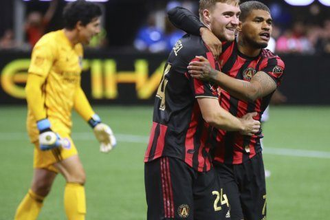 Atlanta United beats Orlando City 1-0 for 4th straight win