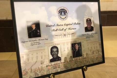 US Capitol Police officers who have died honored at memorial service
