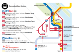 Those that rely on the trains that will be shut down this summer have convenient bus options to get around. (Courtesy Metro)