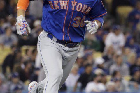Conforto's grand slam sends Mets past Dodgers 7-3
