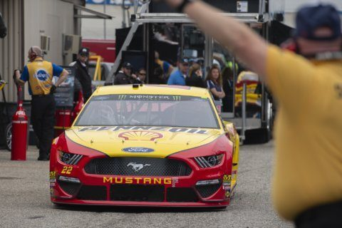 The Latest: Truex wins NASCAR race at Dover