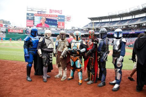 May the 4th be with blood donors and Nats fans on Star Wars Day