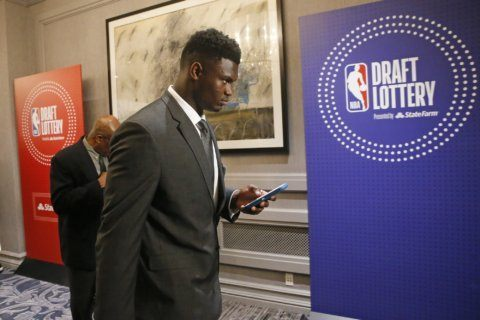 Wizards get 9th; New Orleans gets top pick in NBA draft lottery