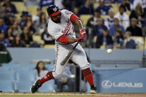 Nationals roundup: Nats open series with shutout of Dodgers