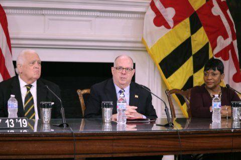 Hogan expresses concern while releasing education funding, allowing Kirwan bill to take effect