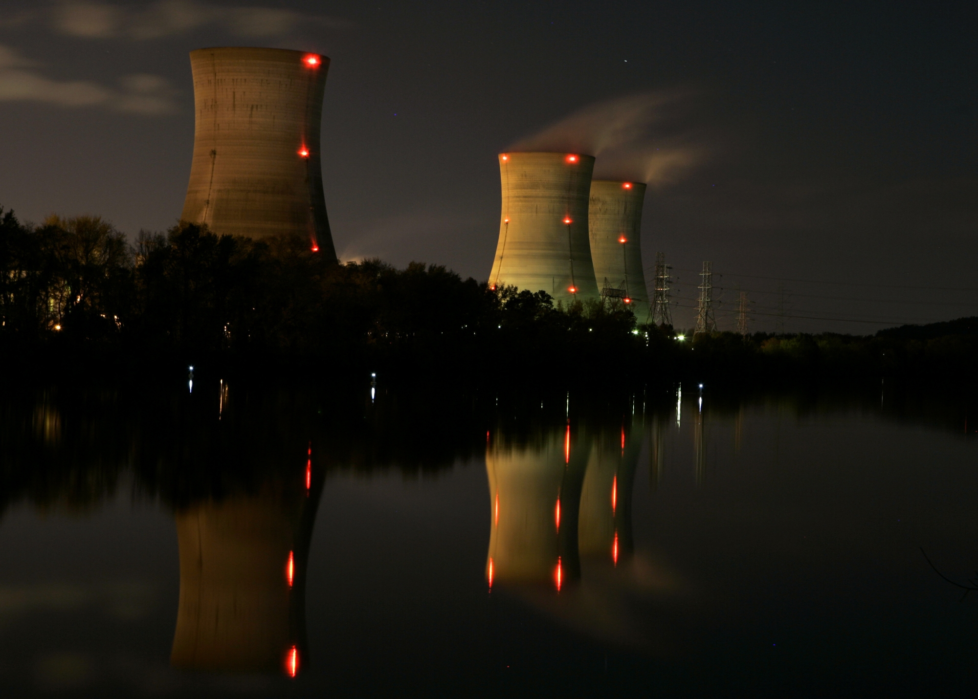 Three Mile Island Plant, Site Of Nuclear Accident, To