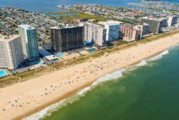 Ocean City, Maryland, is one of the most popular beach resorts on the East Coast and is considered one of the cleanest in the country. (Getty Images/iStockphoto/rypson)