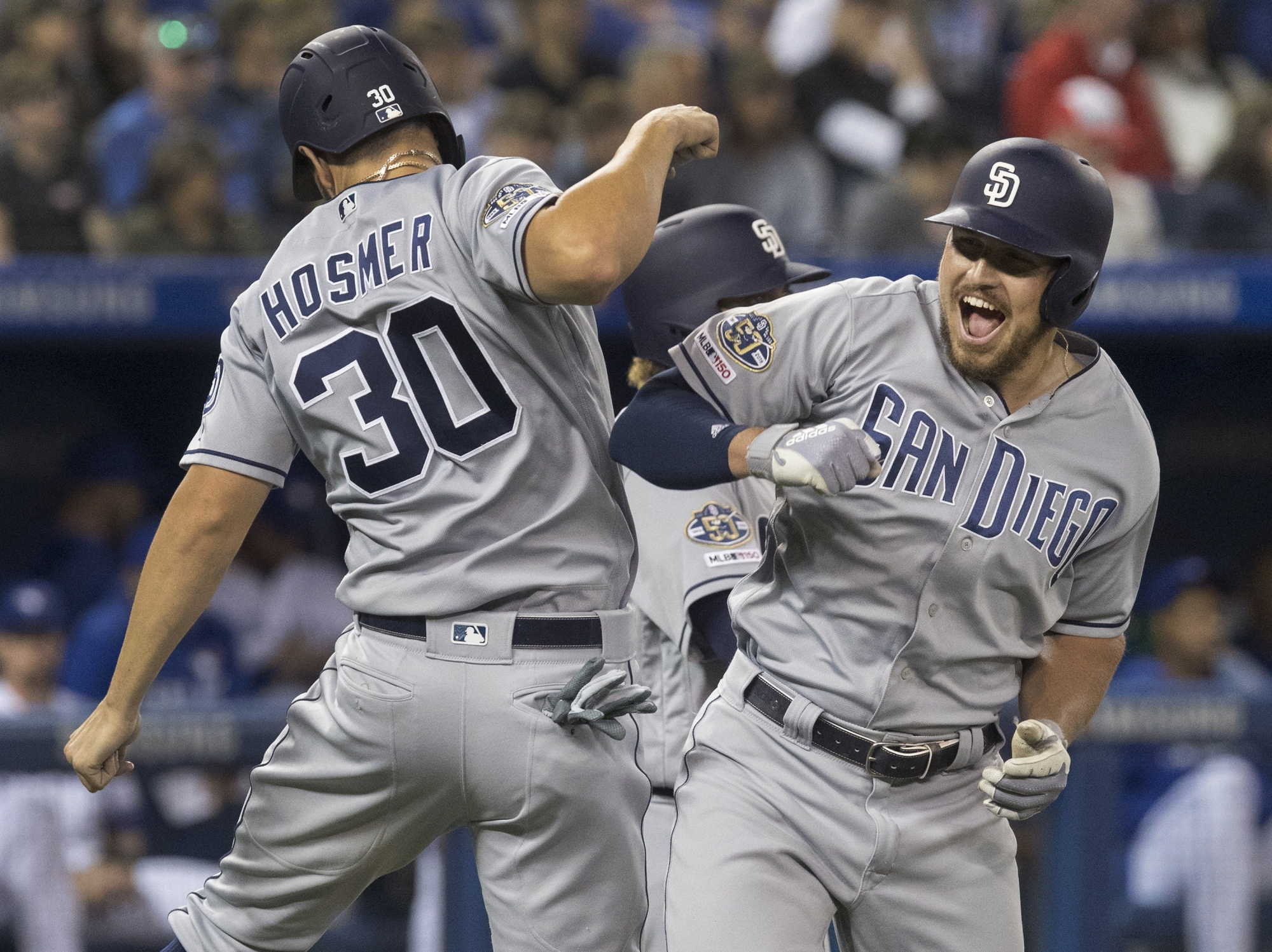 Padres Hit Team-record 7 HRs, Rout Jays 19-4, Win 5th In