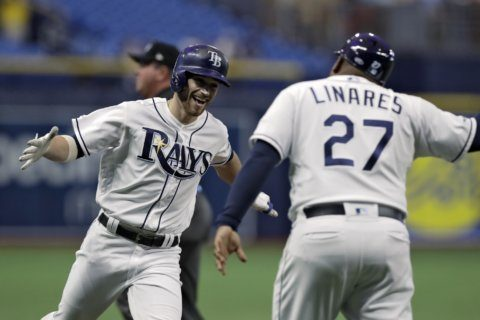 Column: Penny-pinching Rays manage to keep up with big boys