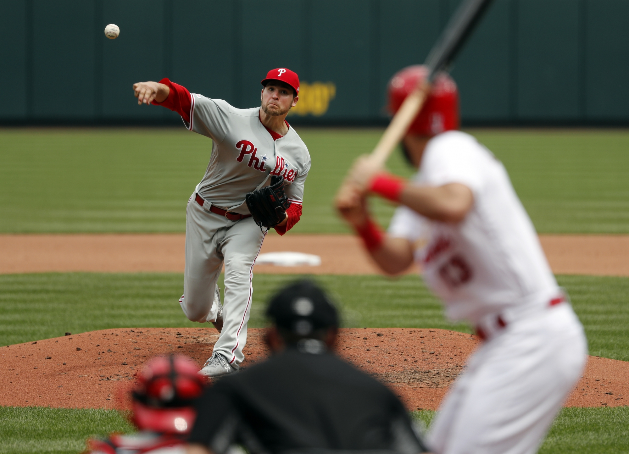 Eickhoff allows 3 hits in 8 innings, Phillies blank Cards ...