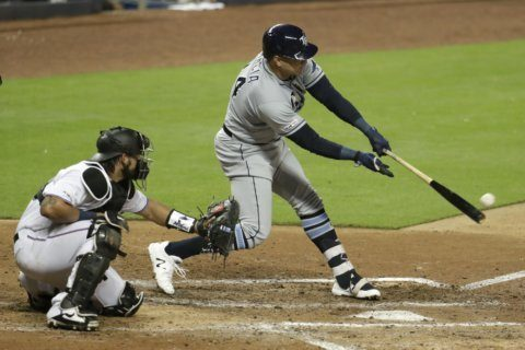 Morton, Garcia lead Rays to 4-0 win over Marlins