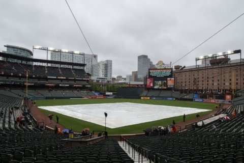 Rays-Orioles postponed by rain, will be made up July 13