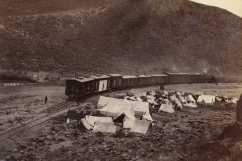 Remembering the migrants who built the transcontinental railroad 150 years ago