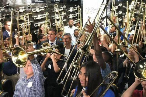 Correction: School Shooting-Trombones story