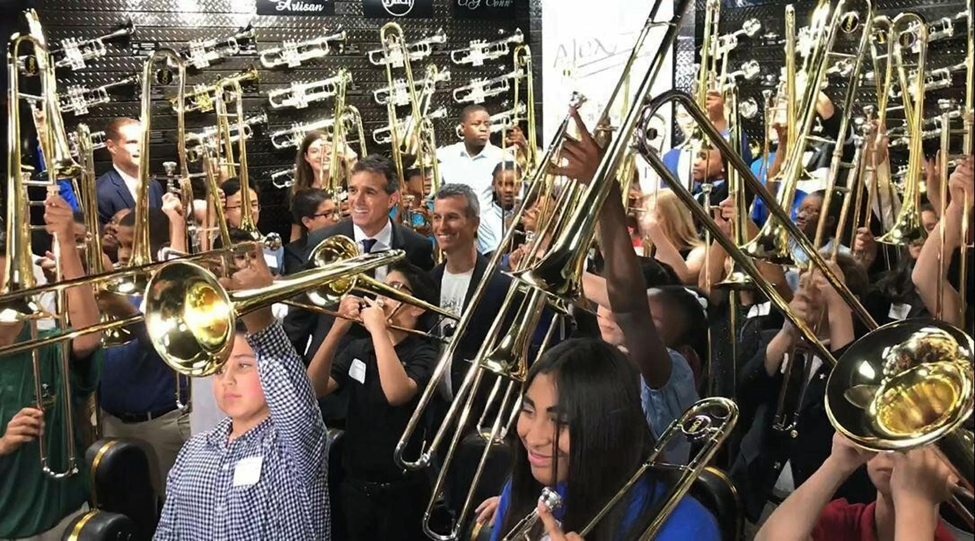 Correction: School Shooting-Trombones Story