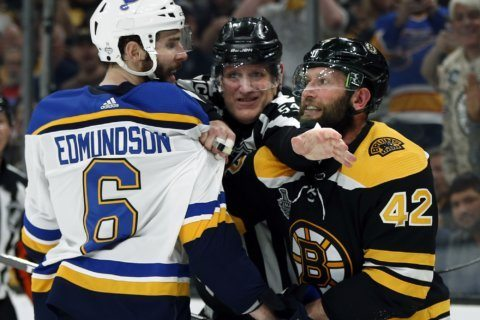 Blues' Edmundson awarded $3.1M, 1-year deal in arbitration