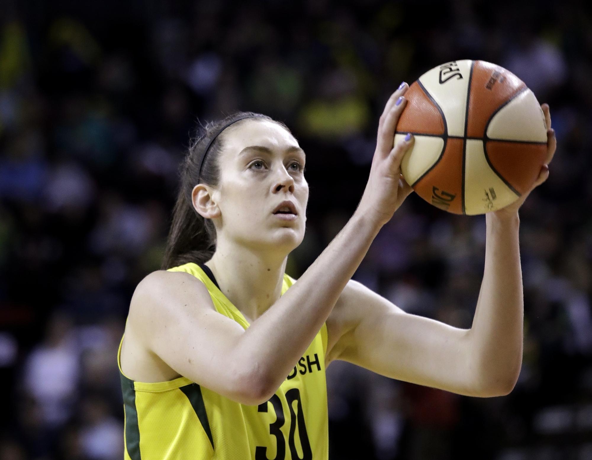 Breanna Stewart To Be WNBA Ambassador This Season