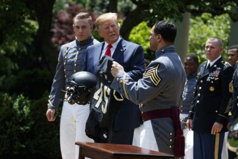 Trump wants to restore waiver for service academy athletes
