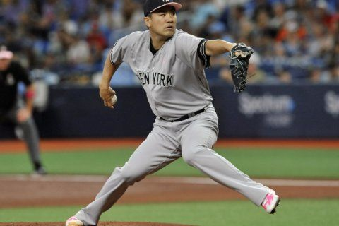 Yankees beat Rays 7-1, take 2 of 3 from AL East leaders