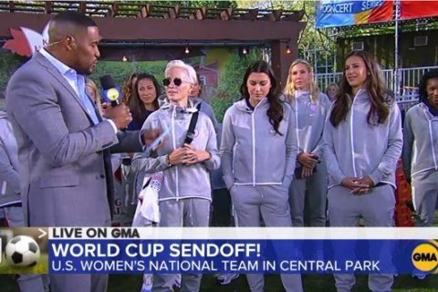 US Women's soccer stars hope 2019 World Cup inspires girls to 'believe in themselves'