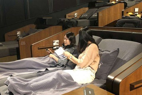 South Korean theaters transform into forest, living room and bedroom to attract filmgoers