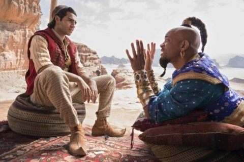 Movie Review: Fresh Prince meets Prince Ali in live-action 'Aladdin'