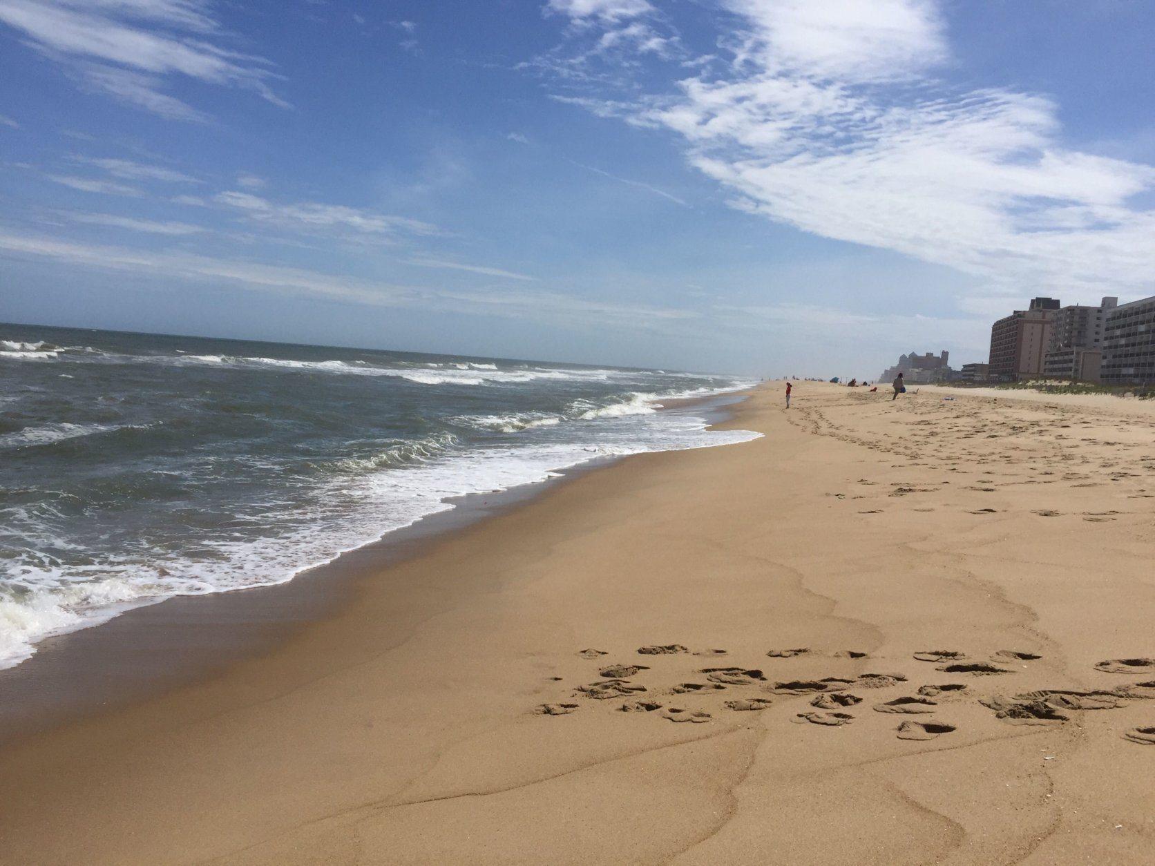 Ocean City boasts tremendous beaches. (WTOP/John Domen)